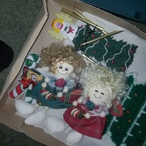 Box of Decorations and Magnets